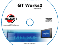 Phần mềm GT Works lập trình HMI Mitsubishi