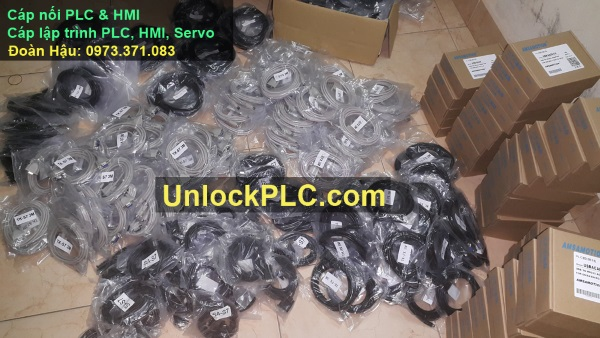 Cáp lập trình PLC HMI
