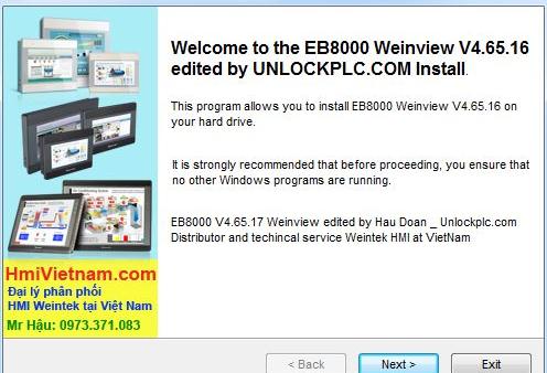 [Download] Phần mềm lập trình TK6070iQ TK6070iP TK6070iH WeinView