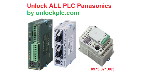 Unlock PLC Panasonics
