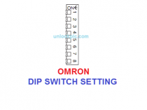 PLC OMRON DIP SWITCH SETTING – Chi Tiết