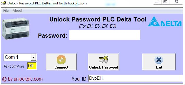 Crack Password PLC Delta Tool