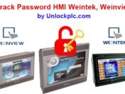 Crack Password HMI Weintek Weinview